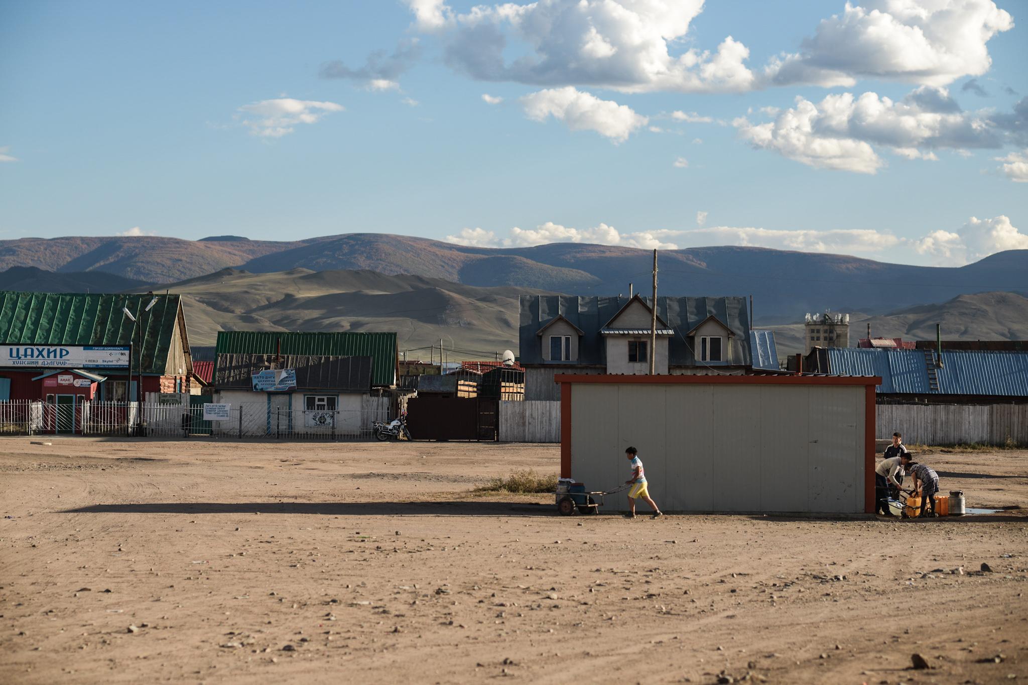 Steppe by steppe