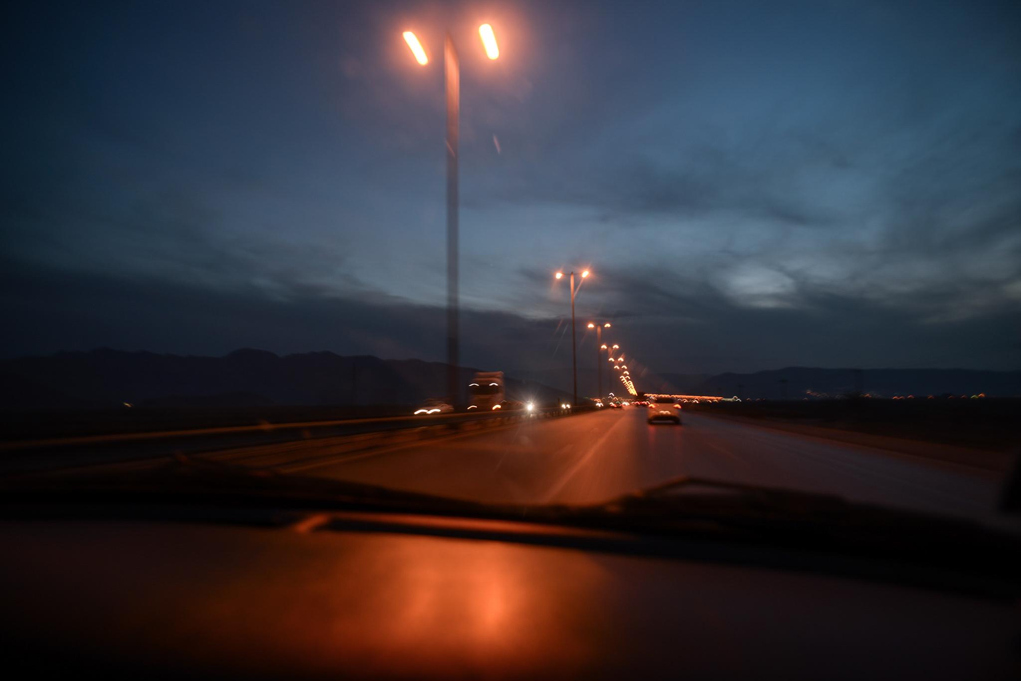 En voiture Chiraz
