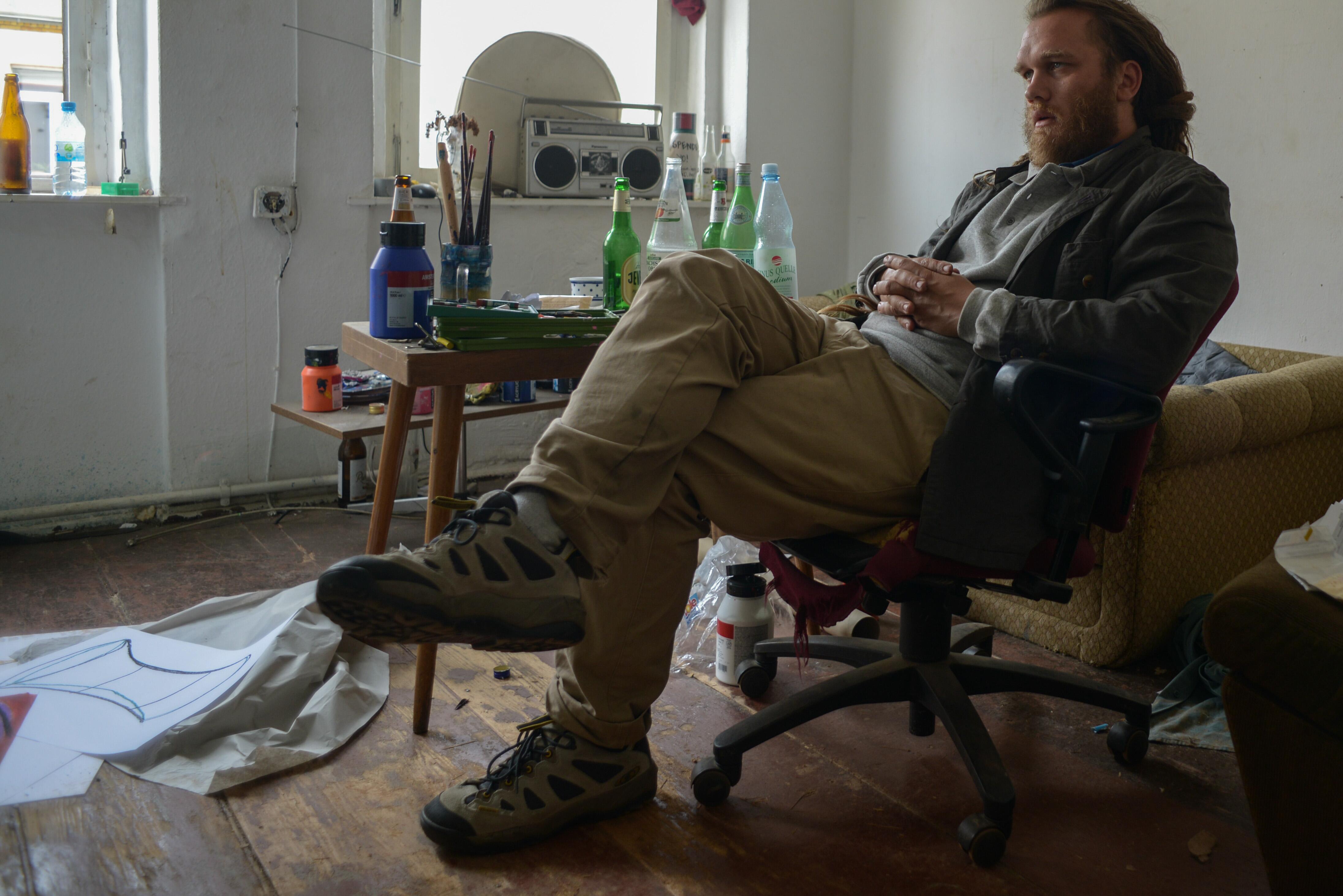 Florent, artiste en transition à Leipzig